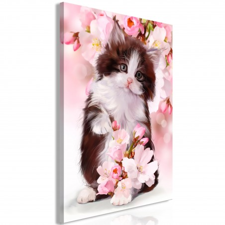 Quadro - Sweet Kitty (1 Part) Vertical - Quadri e decorazioni