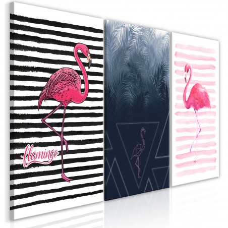 Quadro - Flamingos (Collection) - Quadri e decorazioni