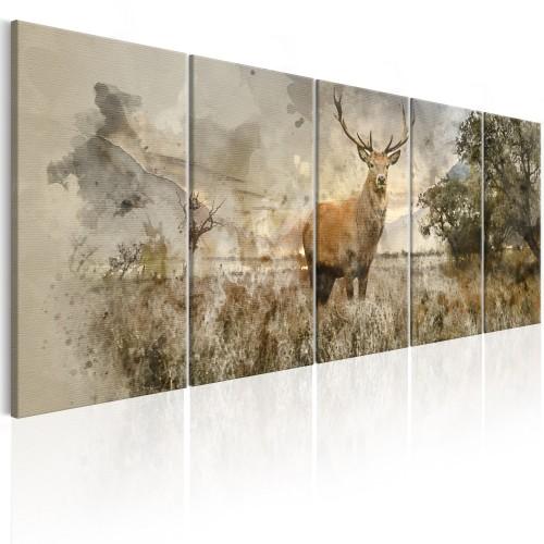 Quadro - Watercolour Deer I - Quadri e decorazioni