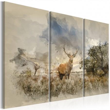 Quadro - Deer in the Field I - Quadri e decorazioni