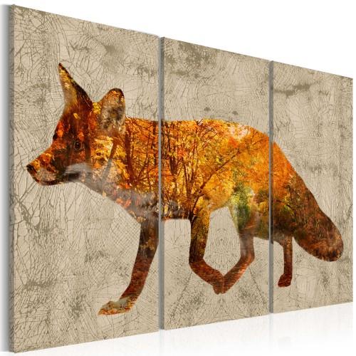 Quadro - Fox in The Wood - Quadri e decorazioni