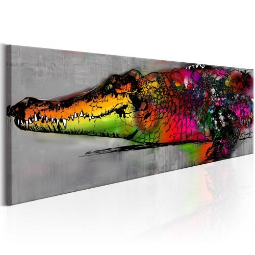 Quadro - Colourful Alligator - Quadri e decorazioni