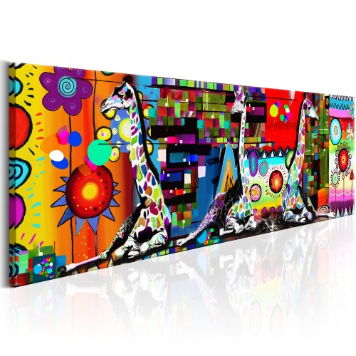 Quadro - Colourful Savannah - Quadri e decorazioni