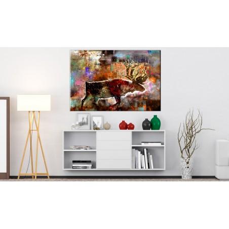 Quadro - Colourful Caribou - Quadri e decorazioni