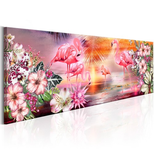 Quadro - Flamingoes Land - Quadri e decorazioni