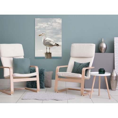 Quadro - Seagull (1 Part) Vertical - Quadri e decorazioni