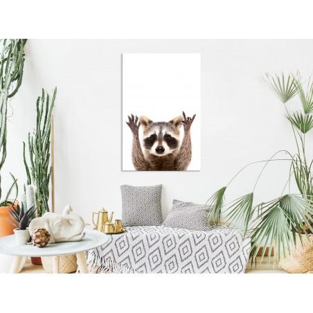 Quadro - Raccoon (1 Part) Vertical - Quadri e decorazioni