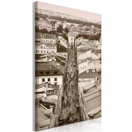 Quadro - Cracow: Florianska Street (1 Part) Vertical - Quadri e decorazioni