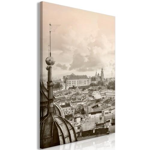 Quadro - Cracow: Royal Castle (1 Part) Vertical - Quadri e decorazioni