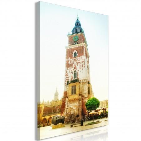 Quadro - Cracow: Town Hall (1 Part) Vertical - Quadri e decorazioni