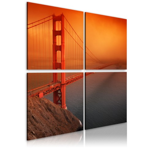 Quadro - Il Golden Gate Bridge: San Francisco - Quadri e decorazioni