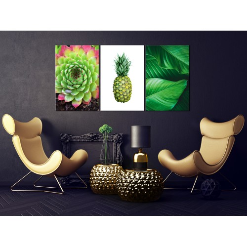 Quadro - Treasures of the Tropics (3 Parts) - Quadri e decorazioni