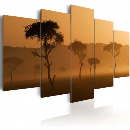 Quadro - Savana nella nebbia - Quadri e decorazioni