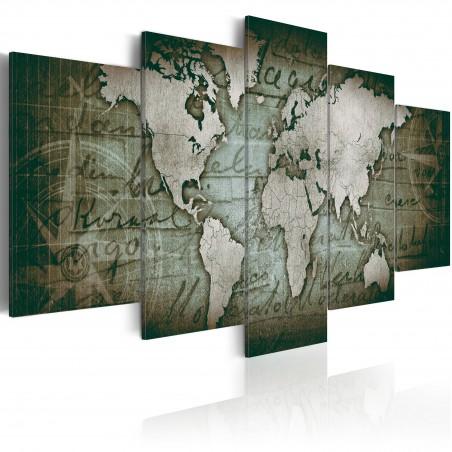 Quadro - Emerald Map - Quadri e decorazioni