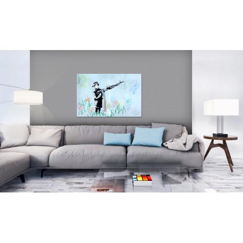 Quadro - Boy with Gun by Banksy - Quadri e decorazioni