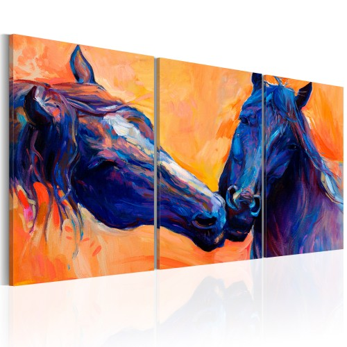 Quadro - Blue Horses - Quadri e decorazioni