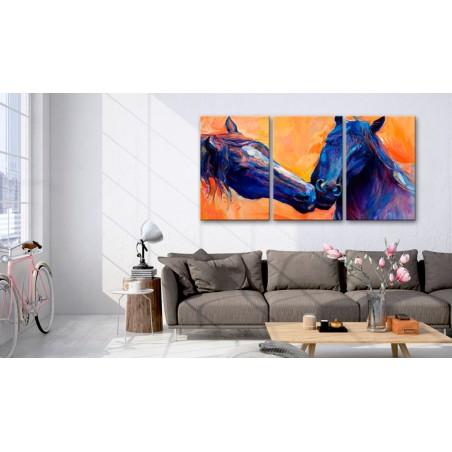 Quadro - Blue Horses - Quadri e decorazioni