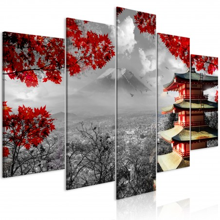 Quadro - Japanese Adventure (5 Parts) Wide - Quadri e decorazioni