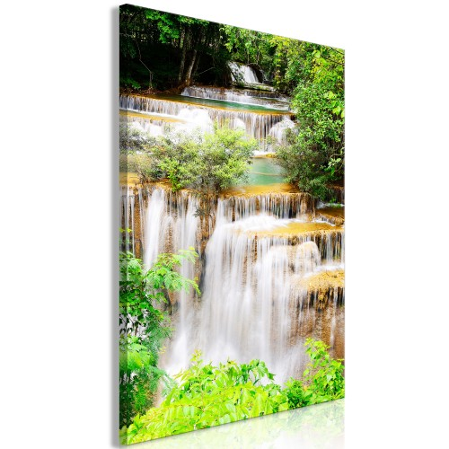 Quadro - Paradise Waterfall (1 Part) Vertical - Quadri e decorazioni