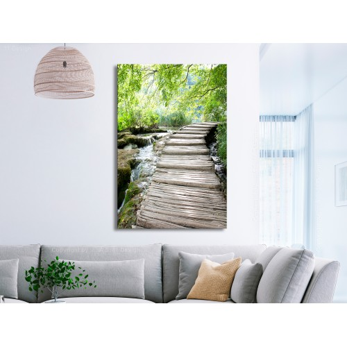 Quadro - Charming Path (1 Part) Vertical - Quadri e decorazioni