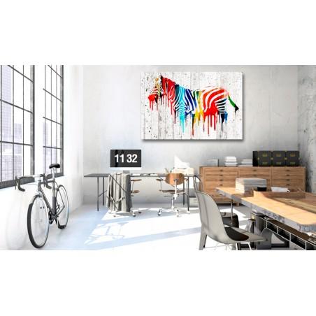 Quadro - Colourful Zebra - Quadri e decorazioni