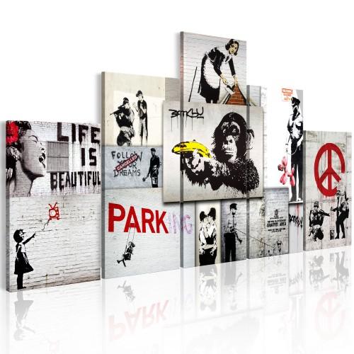 Quadro - Street Crimes: Banksy Art - Quadri e decorazioni