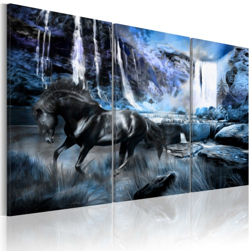 Quadro - Cascata color zaffiro - Quadri e decorazioni
