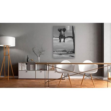 Quadro - Resting Elephant - Quadri e decorazioni