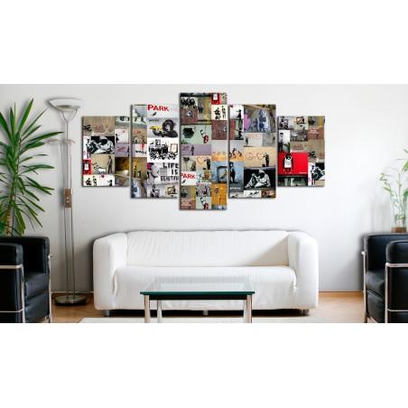 Quadro - Art of Collage: Banksy IV - Quadri e decorazioni