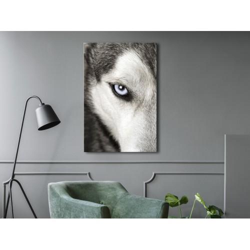 Quadro - Dog's Look (1 Part) Vertical - Quadri e decorazioni