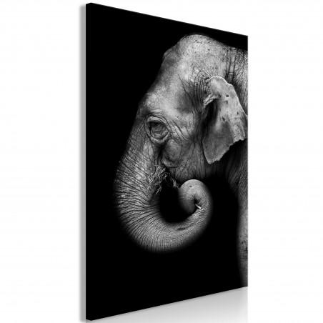 Quadro - Portrait of Elephant (1 Part) Vertical - Quadri e decorazioni
