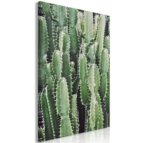 Quadro - Cactus Garden (1 Part) Vertical - Quadri e decorazioni
