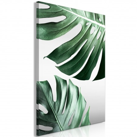 Quadro - Monstera Leaves (1 Part) Vertical - Quadri e decorazioni