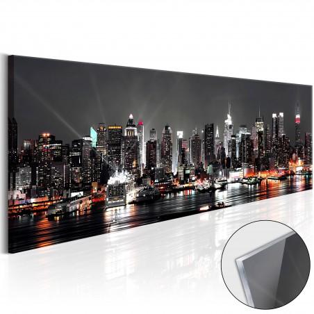 Quadri su vetro acrilico - New York Dream [Glass] - Quadri e decorazioni