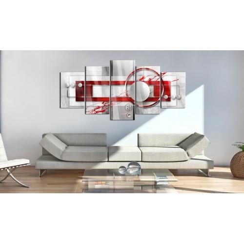 Quadri su vetro acrilico - Incarnadine Energy [Glass] - Quadri e decorazioni
