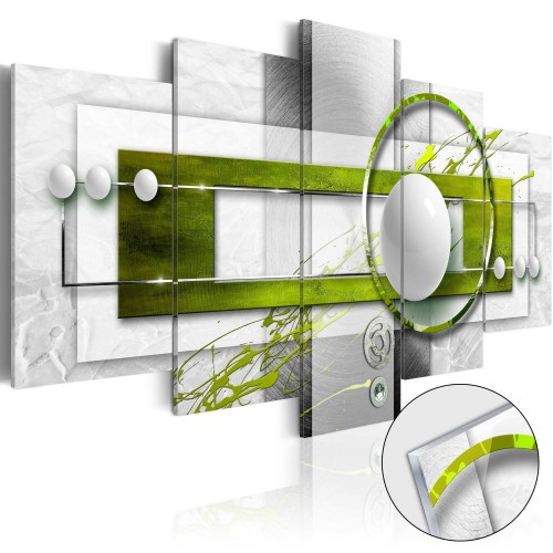 Quadri su vetro acrilico - Green Energy [Glass] - Quadri e decorazioni
