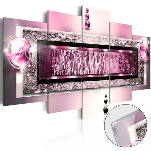 Quadri su vetro acrilico - Cyclamen Dream [Glass] - Quadri e decorazioni