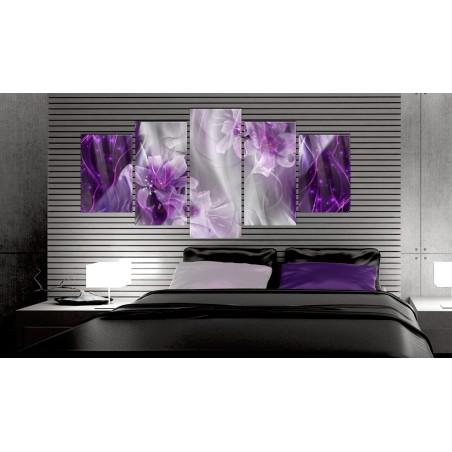 Quadri su vetro acrilico - Purple Utopia [Glass] - Quadri e decorazioni