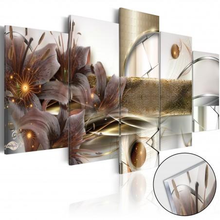 Quadri su vetro acrilico - The Garden of Space [Glass] - Quadri e decorazioni
