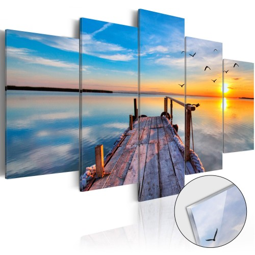 Quadri su vetro acrilico - Lake of Memories [Glass] - Quadri e decorazioni