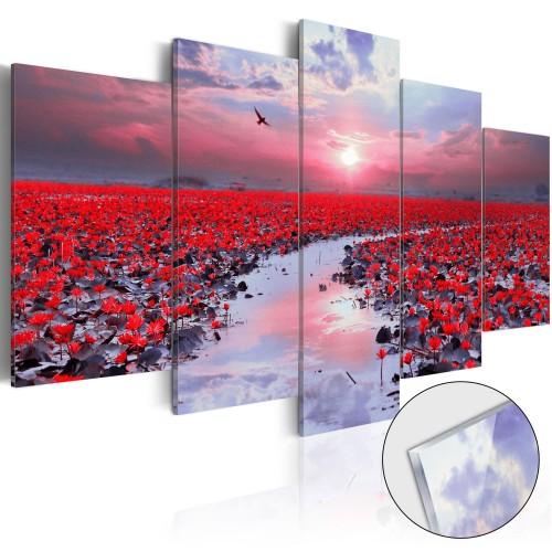 Quadri su vetro acrilico - The River of Love [Glass] - Quadri e decorazioni