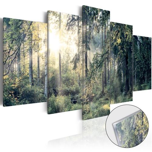 Quadri su vetro acrilico - Fairytale Landscape [Glass] - Quadri e decorazioni