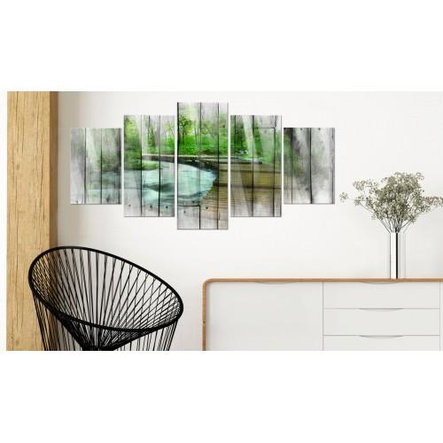 Quadri su vetro acrilico - Forest of Secrets [Glass] - Quadri e decorazioni