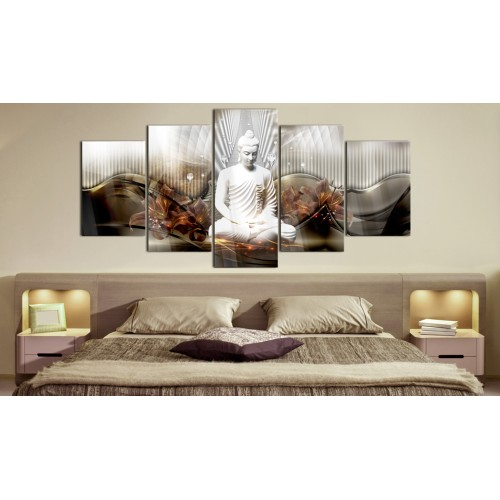 Quadri su vetro acrilico - Crystal Calm [Glass] - Quadri e decorazioni