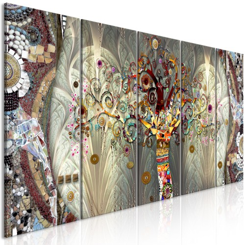 Quadro - Tree of Life (5 Parts) Narrow - Quadri e decorazioni