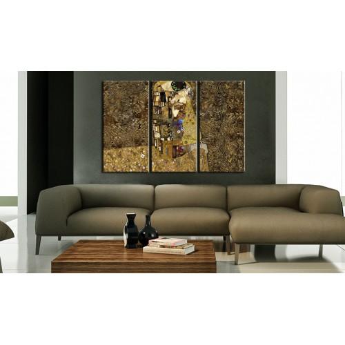 Quadro - Klimt ispirazione - Bacio - Quadri e decorazioni