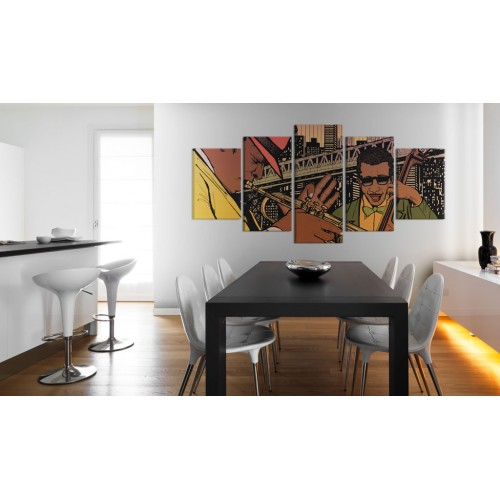 Quadro - Musica jazz: NYC - Quadri e decorazioni