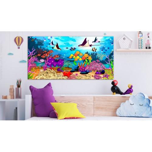 Quadro - Underwater Fun (1 Part) Wide - Quadri e decorazioni