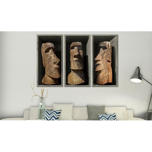 Quadro - Moai (Easter Island) - Quadri e decorazioni