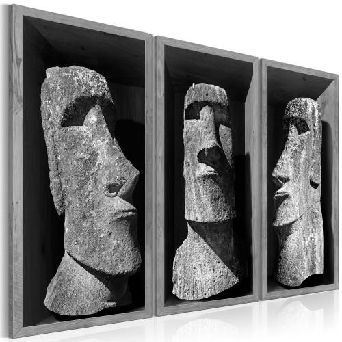 Quadro - The Mystery of Easter Island - Quadri e decorazioni
